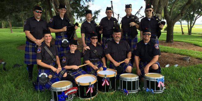 Charleston-pipe-band