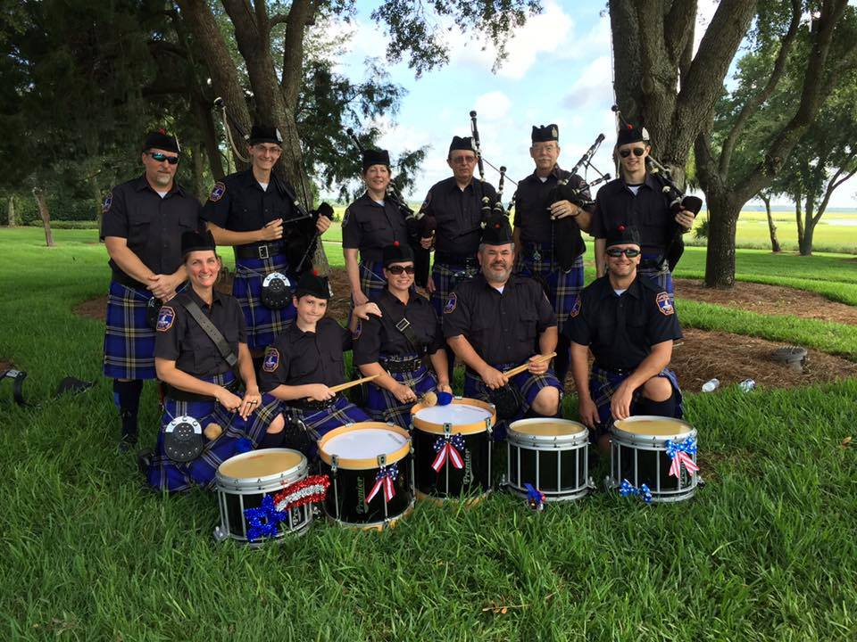 Charleston-pipe-band